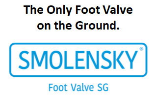 The Only Foot Valve on the Ground.SMOLENSKY FOoot Valve SG